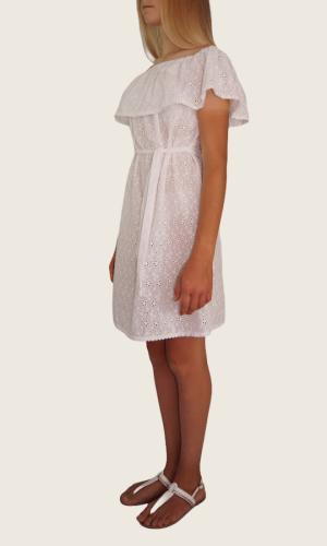 Robe courte blanc<br> Limitée 11 pièces