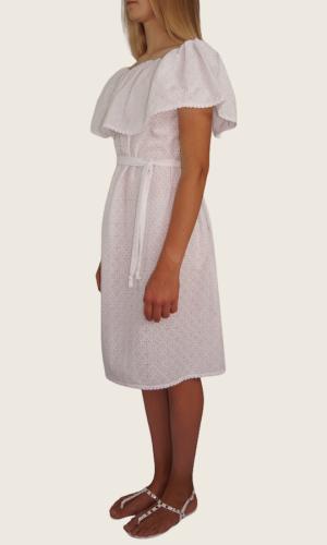 Robe Mi-longue Blanc<br> Limitée 9 pièces